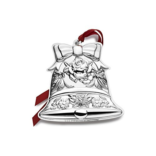 Kirk Stieff 2016 Repousse Bell Ornament, 8th Edition by Kirk Stieff Kirk Repousse