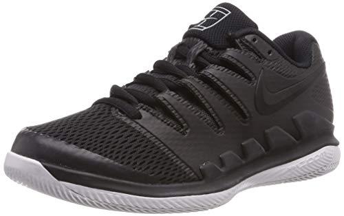Nike Air Zoom Vapor X HC, Scarpe da Tennis Bambino, Multicolore Black/Vast Grey/Anthracite 010, 38 EU