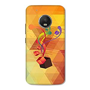 HAPPYGRUMPY DESIGNER PRINTED BACK COVER for MOTO G5 [5th Gen 5 Inch 2017]