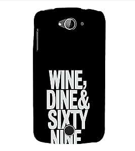 EPICCASE Wine, Dine, 69 Mobile Back Case Cover For Acer Liquid Z530 (Designer Case)