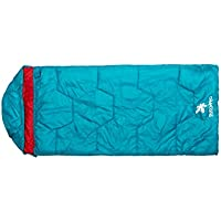 Kounga Sleeping Bag Roraima 10 Jr Gigoteuse Enfant, Bleu/Rouge, L