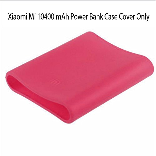 Heartly Soft Silicone Protector Case Cover for Xiaomi Mi 10400 mAh Power Bank ( Powerbank Not Included ) - Cute Pink  available at amazon for Rs.249