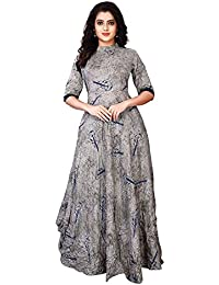 INFOTECH Women's Clothing Reyon Kurti For Women Latest Design Party Wear Collection/ Women Indo-Western Red Party...