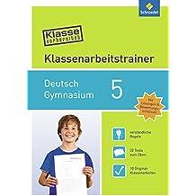 Klasse vorbereitet - Gymnasium: Klassenarbeitstrainer Deutsch 5