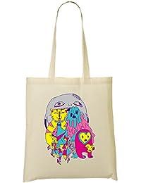 Cool Epic Creepy Monster Bolso De Mano Bolsa De La Compra