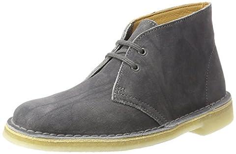 Clarks Damen Desert Boot, Grau (Grey Suede), 42