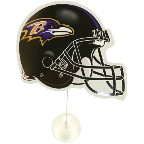 Baltimore Ravens – Helm Fan Wave (Baltimore Ravens-aufkleber)