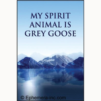 my-spirit-animal-is-grey-goose-rectangle-magnet-by-ephemera-inc