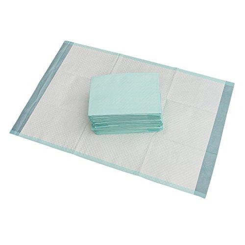 Sharplace Inkontinenzauflage Krankenunterlage (Größe 90 x 60 cm) Einweg Inkontinenzunterlage (25 Stück Packung)