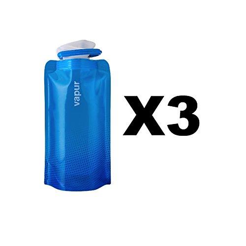 vapur-shades-18oz-water-bottle-blue-flexible-flask-anti-bottle-05l-3-pack