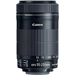 Canon EF-S 55–250mm f/4–5.655–250mm is STM Objectif–Noir