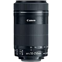 Canon EF-S 55–250mm f/4–5.655–250mm IS STM–nero