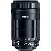 Canon EF-S 55-250mm f/4-5.6 55-250 mm IS STM Lens - Black