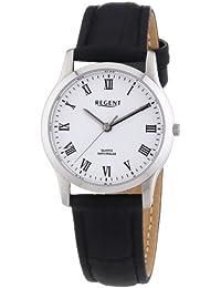 Regent Damen-Armbanduhr XS Analog Quarz Leder 12111104
