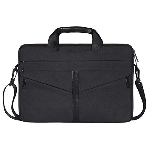 Leichte und tragbare wasserdichte Laptoptasche Business Lightweight Laptop Case - Schwarz -13.3inch -