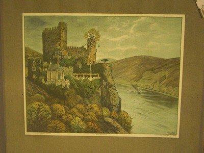 Burg Rheinstein. -