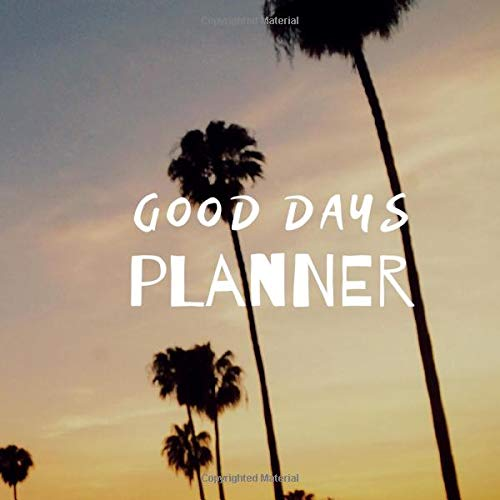 Good Days Planner: Dotted Grid Notebook, Journal, Planner (80 Pages, Dotted, 8.5 x 8.5)