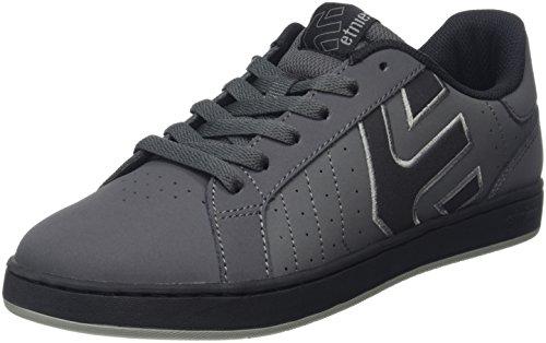 Etnies Fader LS, Scarpe da Skateboard Uomo, Grigio (Grau (Dark Grey/Black/022)), 43 EU