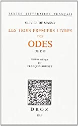 Les trois premiers livres des Odes de 1559
