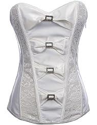 Topwedding arc avec corset de mariage de broche avec G-String