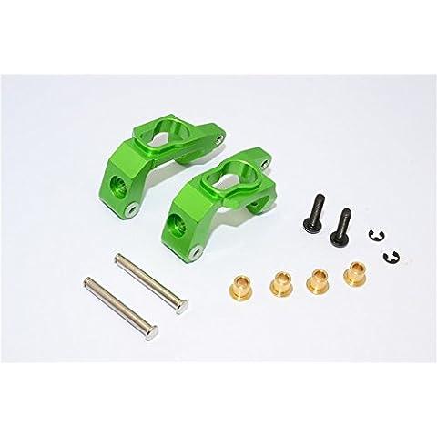 HPI Bullet 3.0 Nitro & Bullet Flux Upgrade Parts Aluminium C-Hub - 1Pr Set Green