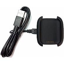WEINISITE Cargador de Carga Muelle de la Horquilla con Cable USB (para ASUS Zenwatch)