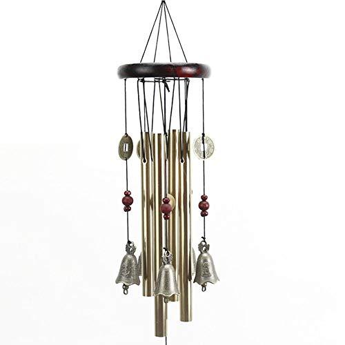 fervortop Campana De Viento Colgante Jardin Al Aire Libre Carillones De Viento...