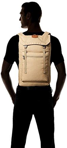 Fjällräven - Zaino ripiegabile Num. 1, Unisex, Zaino, Tasche Foldsack No.1, Black, Taglia unica sabbia
