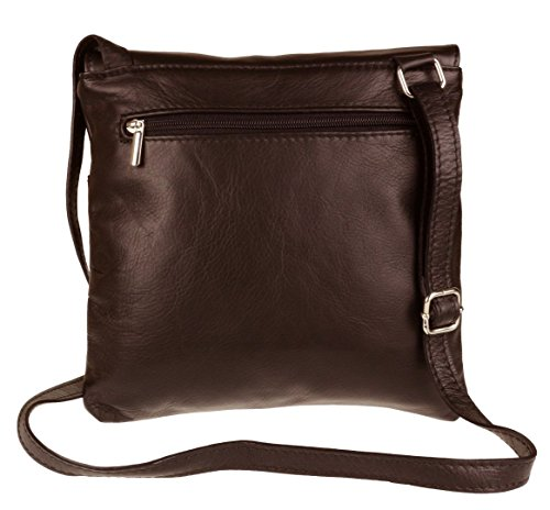 Craze London, Borsa a tracolla donna S Dark Chocolate