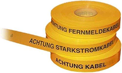 Trassenwarnband m.Aufdr 40mm ge
