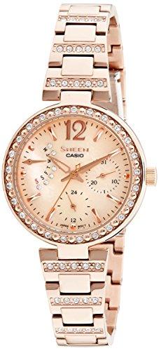 41O9GjQ3bpL - Casio SHE 3043PG 9AUDR Sheen Multi Colour Women watch