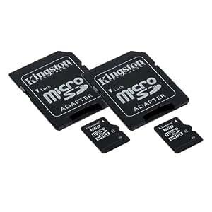 Carte mémoire pour caméscope JVC GZ-HD520 2 x 8GB Micro carte mémoire MicroSD