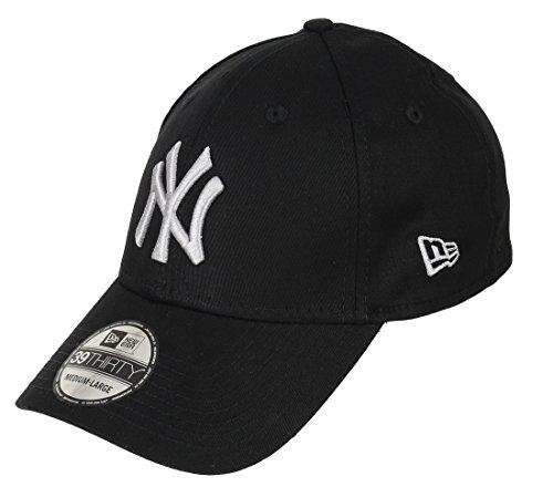 New Era 3930 MLB Black Base NY Yankees Cap S/M black/grey