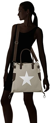Bags4Less - Stern-mini, Borsa a tracolla Donna Beige (Velours-Sand)