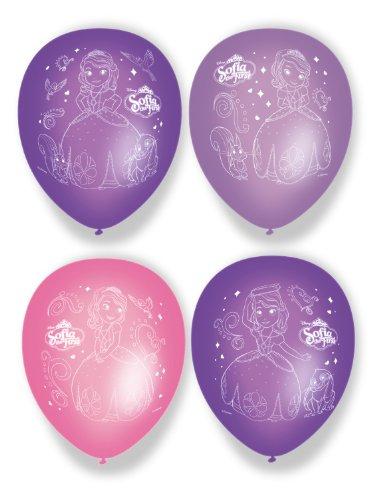 Disney Amscan 27cm Ballon Sofia Erste Accessoire Party, 6Stück (Sofia Die Erste-banner)