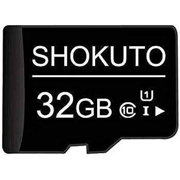 SHOKUTO Tarjeta SD, 32 GB, Tarjeta de Memoria Micro SDHC, Tarjeta TF, Clase 10, U1
