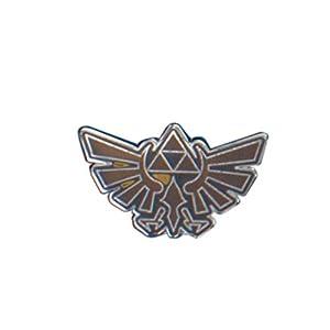 The Legend of Zelda AMZ4267NN - Insignia esmaltada con escudo de Hyrule, unisex-adulto, talla única