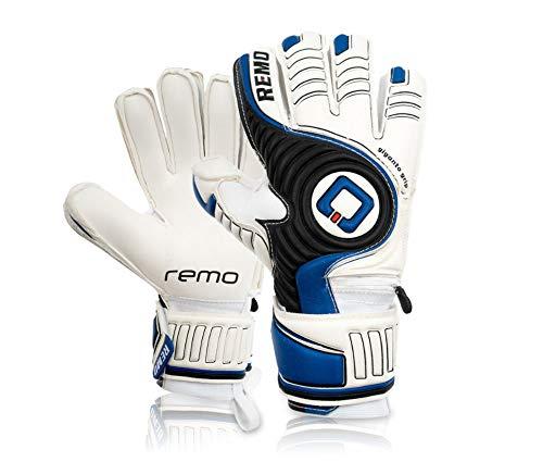 REMO Sports Erwachsene Giganto Fingersave Torwarthandschuhe, dunkelblau, 9