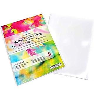 20 Sheets White Waterproof A4 Vinyl Matt Self Adhesive Sticker Quality Inkjet Printable
