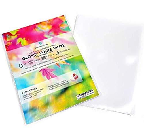 Vinilos adhesivos imprimibles en formato A4