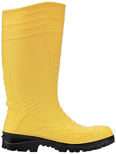 V12 Mens Groundworker S4 Safety Wellingtons VW254/12 Yellow 12 UK, 47 EU Jaune (yellow)