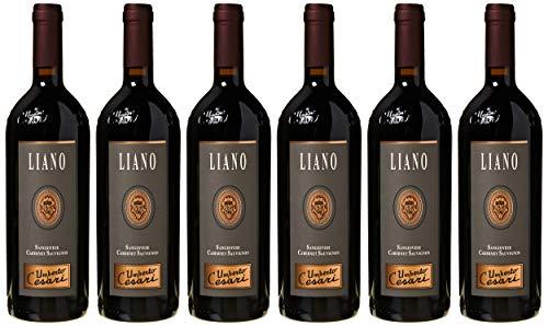 Umberto Cesari Vino Rosso Liano Sangiovese Cabernet Sauvignon Rubicone Igt - 2016-1 Bottiglia da 750 ml