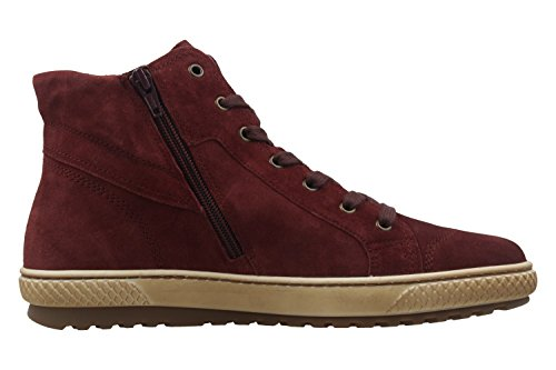 GABOR - Damen High Top Sneaker - Rot Schuhe in Übergrößen Rot