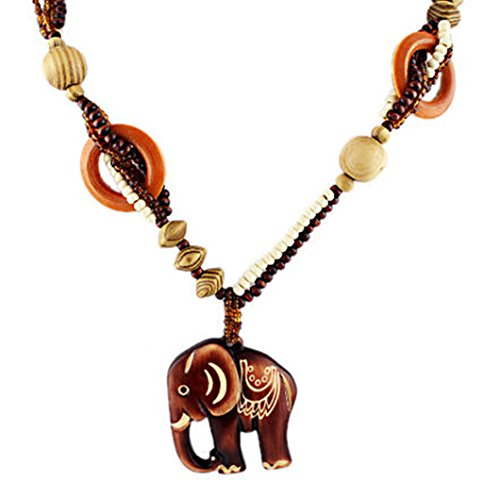 bohemian-style-elephant-pendant-necklace