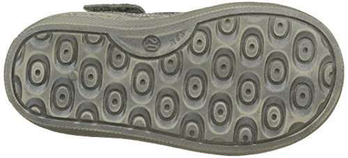 Aster Risette, Chaussures Premiers Pas Bébé Fille Gris (Gris Foncé)
