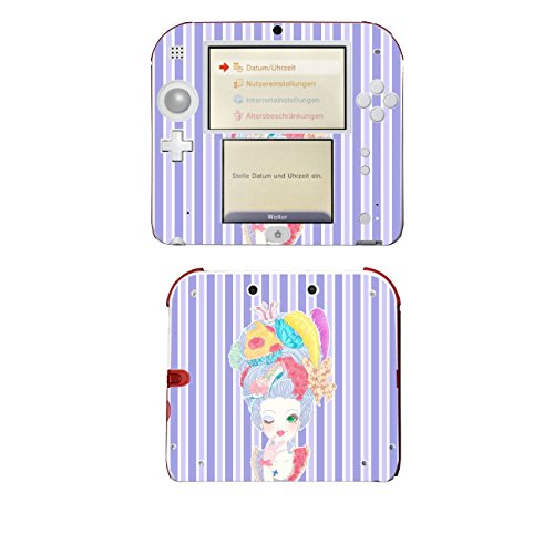 Disagu SF-105310_1138 Design Folie für Nintendo 2DS - Motiv Marie-Antoinette 03