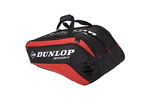DUNLOP Tennistasche Biomimetic 10-Racket-Thermo Bag, rot/schwarz, 80 x 40 x 35 cm, 108 liters, 817175 -