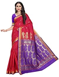 Craftsvilla Silk Saree (Mcraf57483217690_Red_Free Size)