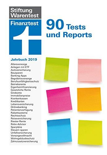 Finanztest Jahrbuch 2019: 90 Tests und Reports
