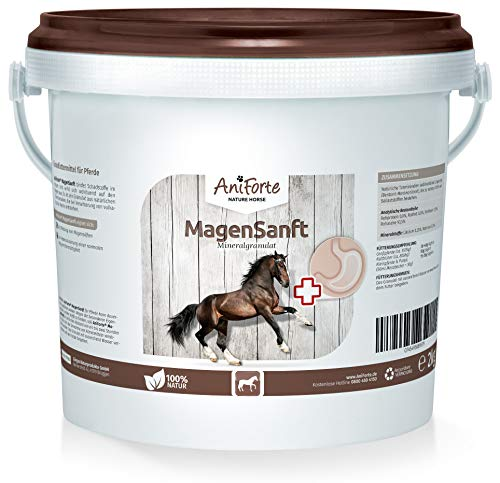 AniForte estómago Suavemente 2kg–Producto Natural para Caballos